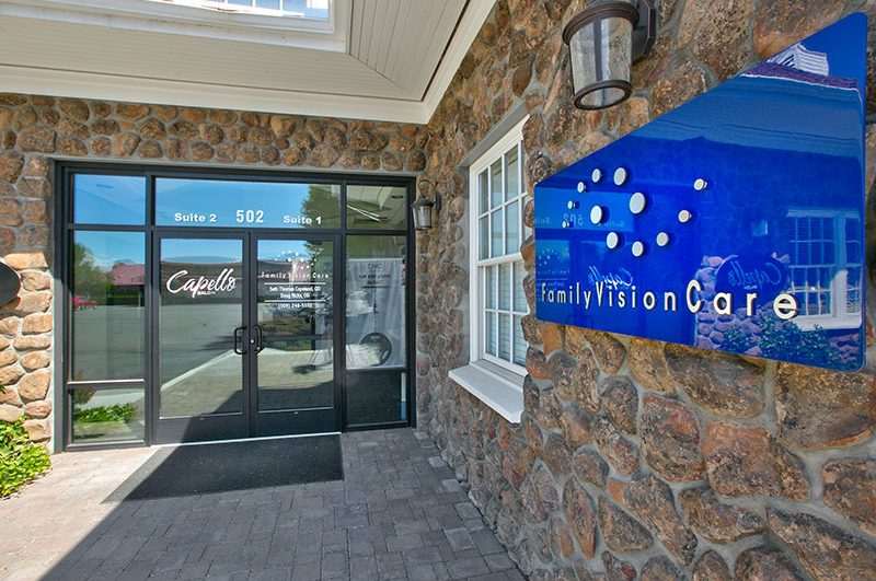 Family Vision Care Entrance