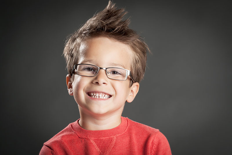boy child pediatric eye care services